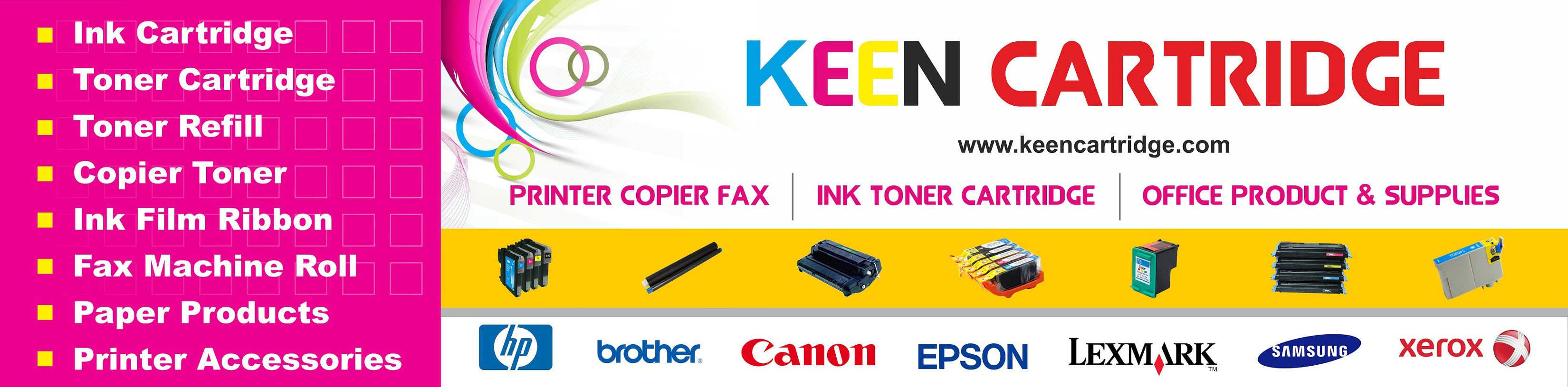 Ink Toner cartridges