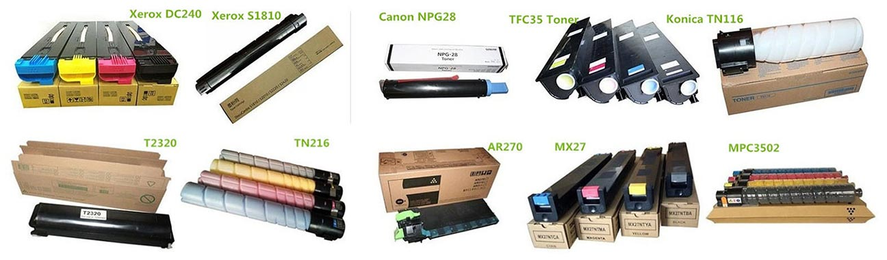 copier Toner Toner Cartridges Ink cartridges